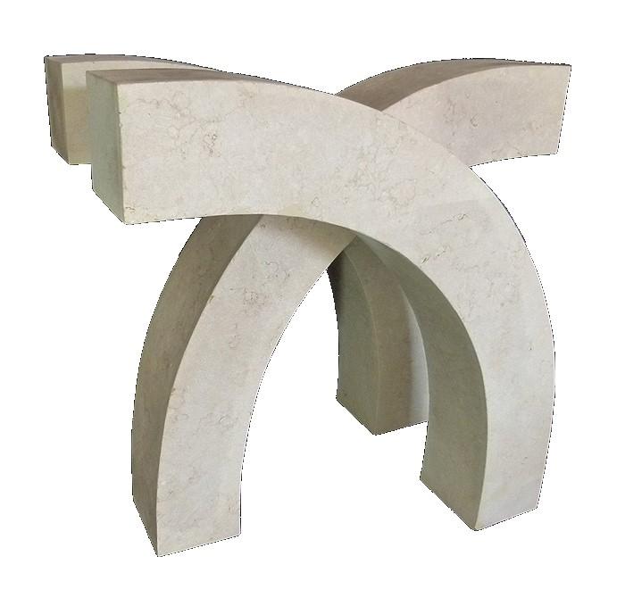 bases para mesas de mrmol travertino mesa para terraza mesa para sala de travertino
