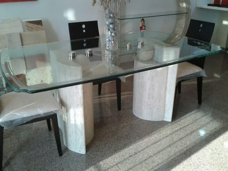 base-para-mesa-de-comedor-en-marmol-travertino-mod-paloma ...
