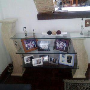 Bases para Mesas de Mármol Travertino | Mármol Perú