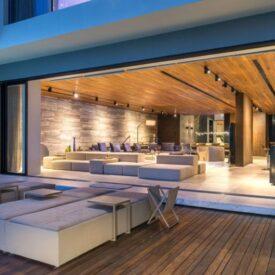 Marmol para Casa de Playa Moderna