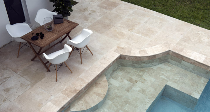 Ideas De Piscinas Con Travertino Y Terrazas Con M 225 Rmol